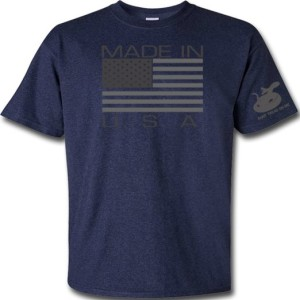 Gadsden & Culpeper Made in USA T-Shirt (Blue)