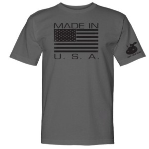 Gadsden & Culpeper Made in USA T-Shirt (graphite)