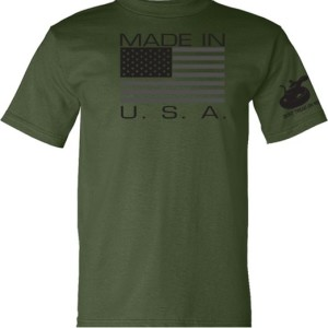 Gadsden & Culpeper Made in USA T-Shirt (military green)