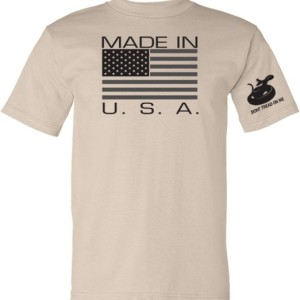Gadsden & Culpeper Made in USA T-Shirt (Tan)