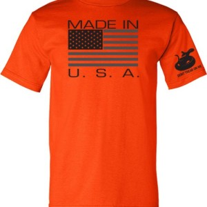 Gadsden & Culpeper Made in USA T-Shirt (Orange)