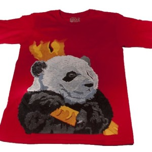 Giant Panda T-Shirt Large Made in America