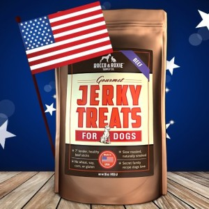 American Made Beef Jerky Treats for Dogs
