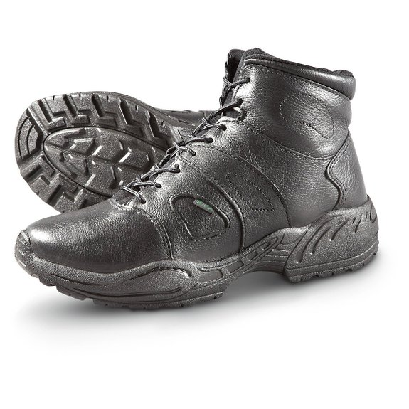 rocky 5052 tmc sport chukka boots work shoes black mens