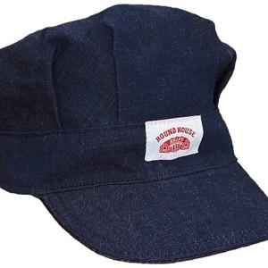 USA Made Roundhouse Denim Train Engineer Hat