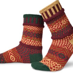 Solmate Socks - Mismatched Crew Socks - Made in USA