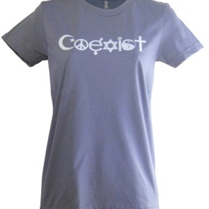 Women's Made in USA Coexist T-Shirt