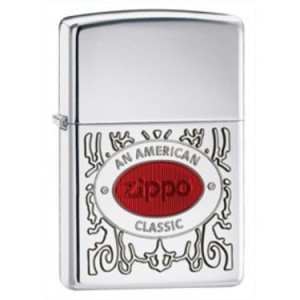 Zippo American Classic High Polish Chrome Lighter