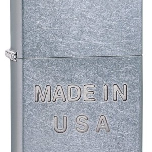 Zippo Embossed Made in USA Lighter