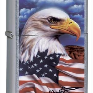 Zippo Claudio Mazzi American Eagle Lighter