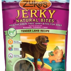 Zuke's Jerky Natural Bites - Lamb Flavor - Made in America