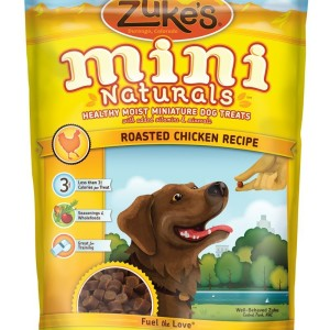 Zuke's Mini Roasted Chicken Dog Treats - Made in the USA