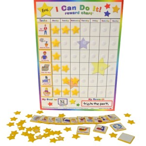 "Kenson Kids - ""I Can Do It"" Reward and Responsibility Chart Made in America"