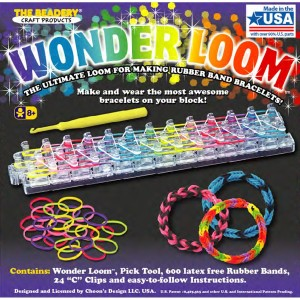 Beadery Wonder Loom Bracelet Making Kit American Made