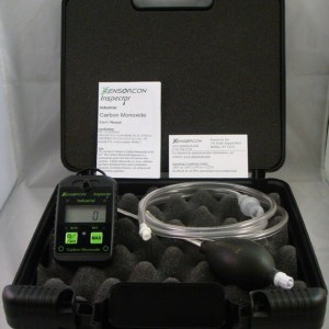 Sensorcon Tough, Waterproof, Made in USA: Certified Intrinsically Safe Carbon Monoxide Detector & Pump Kit