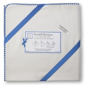 SwaddleDesigns Organic Ultimate Receiving Blanket American Made