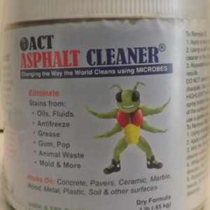 American Cleaning Technologies Asphalt Cleaner - American Made