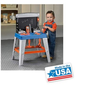 American Plastic Toys - My Very Own Tool Bench - Made in America