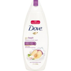 Dove Go Fresh Nutrium Moisture Plum & Sakura Blossom Body Wash - Made in America