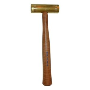 Grace USA BH-24 24 ounce Brass Hammer - Made in America