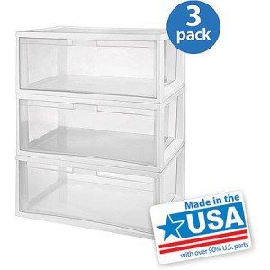 Sterilite Large Tall Modular Drawers - Made in America
