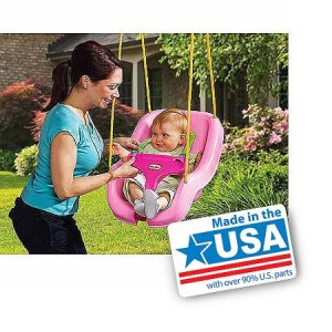 Little Tikes 2-In-1 Snug N Secure Swing - American Made