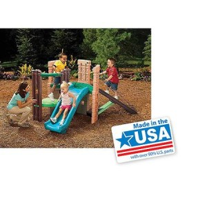 Little Tikes 2-in-1 Castle Climber - Made in America
