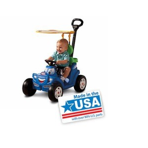 Little Tikes Deluxe 2-in-1 Cozy Roadster - Made in America