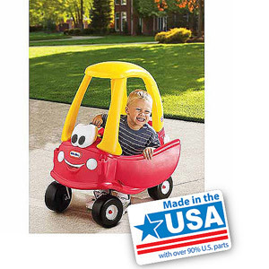 Little Tikes Cozy Coupe 30th Anniversary Car - Made in America