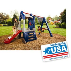 Little Tikes Clubhouse Swing Set - American Made