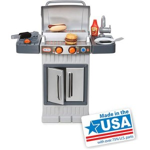 Little Tikes Cook 'N' Grow BBQ Grill - Made in America