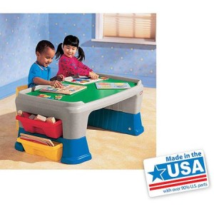Little Tikes Easy Adjust Play Table - Made in America