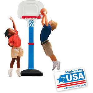 Little Tikes TotSports Easy Score Basketball Set - American Made