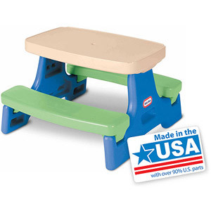 Little Tikes Easy Store Jr. Play Table - American Made