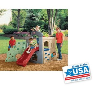 Little Tikes Endless Adventures Rock Climber & Slide - American Made