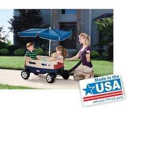 Little Tikes Explorer Wagon with Umbrella - American Made