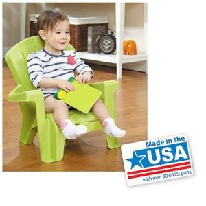 Little Tikes Garden Chair, Green - American Made
