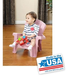 Little Tikes Garden Chair, Pink - Made in America