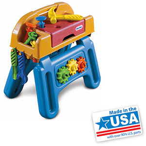 Little Tikes Little HandiWorker Workhorse Tool Play Set - American Made