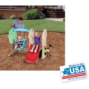 Little Tikes Hide & Seek Climber and Swing - American Made
