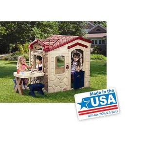 Little Tikes Picnic on the Patio Playhouse - Made in America