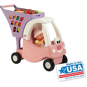 Little Tikes Princess Cozy Shopping Cart - Made in America