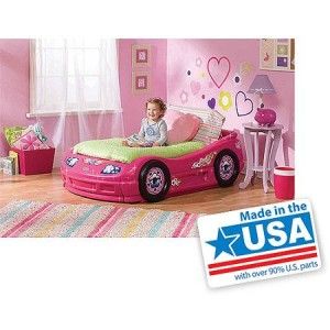 Little Tikes - Princess Roadster Toddler Bed, Pink - Made in America