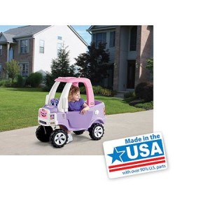 Little Tikes Truck Ride-On, Princess Cozy - Made in America