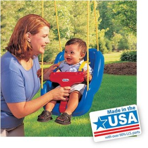 Little Tikes - 2-in-1 Snug 'n Secure Swing - American Made