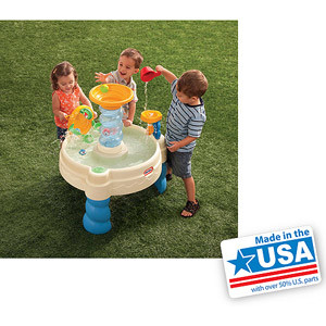 Little Tikes Spiralin Seas Waterpark Table - Made in America
