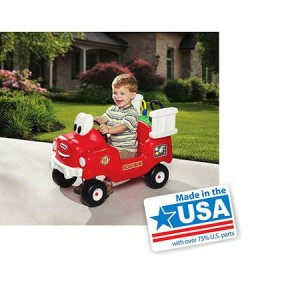 Little Tikes Spray and Rescue Fire Truck - Made in America