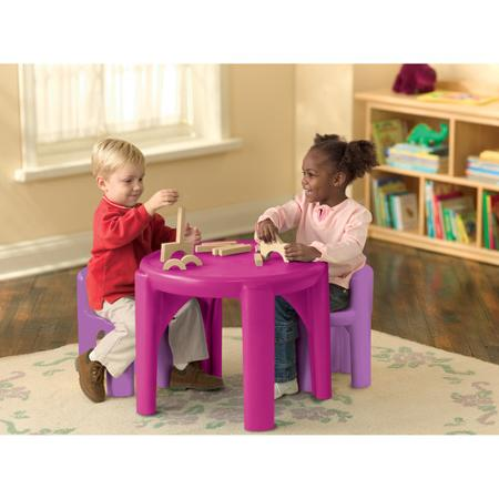 little tikes table and chair set multiple colors buy usa made stuff. Black Bedroom Furniture Sets. Home Design Ideas