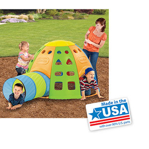 Little Tikes Tunnel 'N Dome Climber - American Made