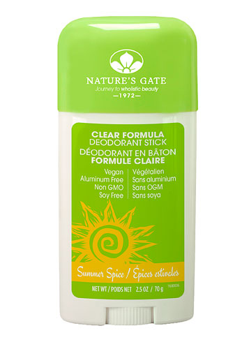 Nature S Gate Clear Formula Deodorant Review